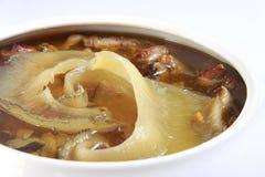 Chinese food, pork meal stock photos