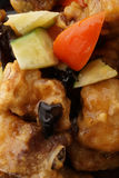 Chinese food. Pork ribs in sweet and sour sauce Royalty Free Stock Photo