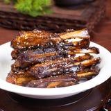 Chinese food, pork roast sauce Stock Photo