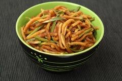 Chinese food Radish pickle Royalty Free Stock Photo
