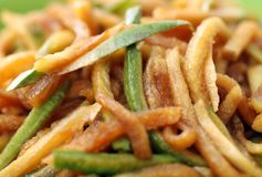 Chinese food Radish pickle Stock Photo