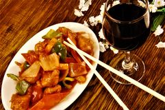 Chinese Food Restaurant royalty free stock photos