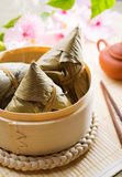 Chinese food rice dumpling Stock Photos