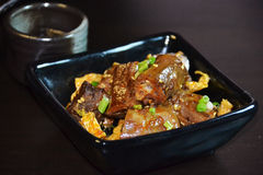 Chinese food-roast duck necks Royalty Free Stock Images
