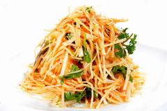 Chinese Food: Salad made of bamboo Royalty Free Stock Images