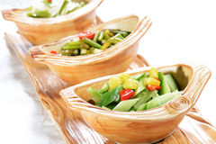 Chinese Food: Salad made Royalty Free Stock Image