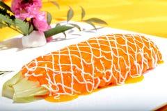 Chinese Food: Salad made of Papaya Royalty Free Stock Images