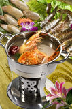 Chinese food, seafood close-up Stock Photo