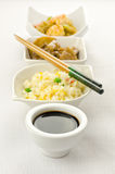 Chinese food, some plate Stock Images