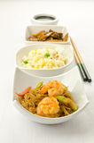 Chinese food, some plate Stock Photography