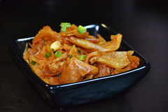 Chinese food- spicy fried bean curd Stock Photo