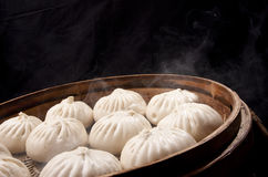 Chinese food, steamed bun Stock Photo