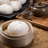 Chinese food, steamed bun Royalty Free Stock Images