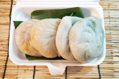 Chinese food, Steamed Chives Dumplings Royalty Free Stock Images
