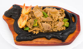 Chinese food. Stewed pork. Royalty Free Stock Images