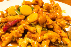 Chinese food sweet and sour Stock Photography