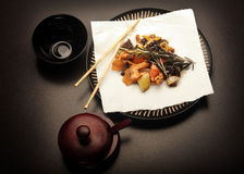 Chinese food - Szechuan chicken Royalty Free Stock Photography