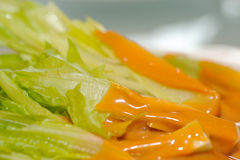 Chinese food Tahini Lettuce Stock Photography