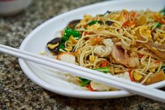 Chinese food. In time thailand Stock Photo