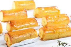 Chinese Food: Toasted sweet potato Stock Images