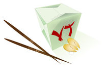 Chinese food. Vector illustration of  chinese food Stock Photos
