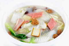 Chinese Food: Vegetable soup Stock Image