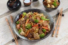 Chinese food - Yakissoba Royalty Free Stock Photography