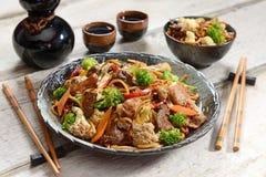 Chinese food - Yakissoba Royalty Free Stock Photo