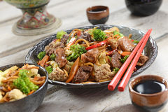 Chinese food - Yakissoba Stock Photography