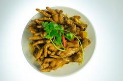 Chinese food--Yummy chicken feet stock image