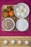 CHINESE FOOD,sweet dumplings Stock Photos