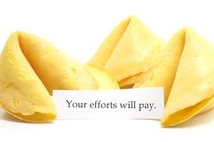 Chinese fortune cookie Stock Image
