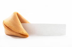 Chinese Fortune Cookie with bl Stock Images