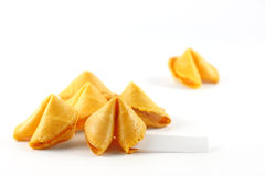 Chinese Fortune Cookie Royalty Free Stock Photography