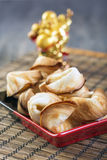 Chinese fortune cookie. Stock Photos
