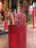Chinese fortune sticks Stock Images