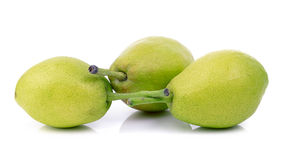 Chinese fragrant pear Stock Photos