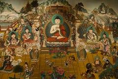 Chinese fresco Royalty Free Stock Photos
