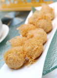 Chinese fried appetizer Royalty Free Stock Images