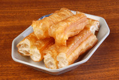 Chinese fried bread stick royalty free stock images