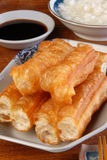 Chinese fried bread stick Stock Photos