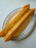 Chinese fried bread stick Royalty Free Stock Photography