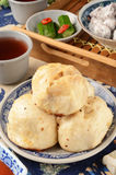 Chinese fried bun Stock Images