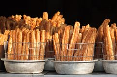 Chinese Fried Dough Sticks Stock Image