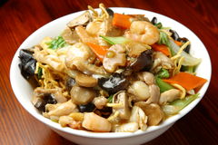 Chinese Fried Noodle Royalty Free Stock Photos