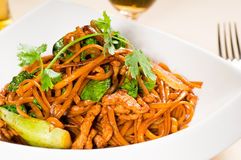 Chinese fried noodles Stock Photography