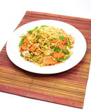Chinese fried noodles Royalty Free Stock Photo