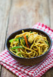 Chinese fried noodles Royalty Free Stock Photography