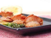 Chinese fried prawns Stock Photos