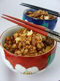 Chinese fried rice. With five spice powder Royalty Free Stock Images